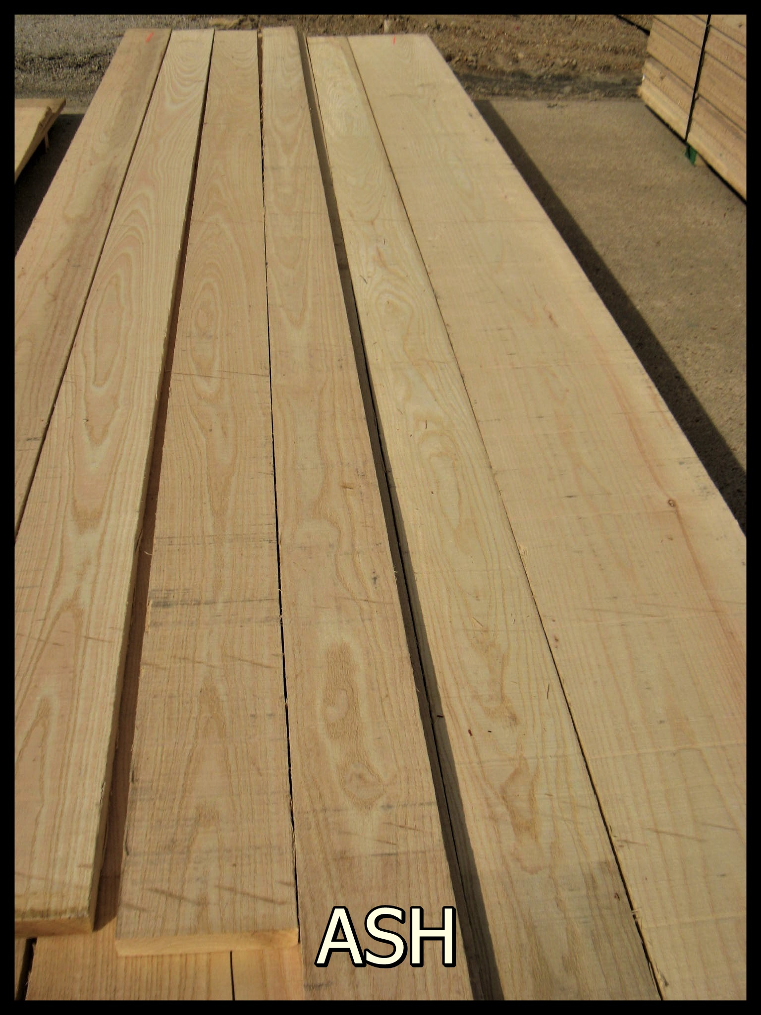 Rough sawn ash bing images for Cheap decking boards b q
